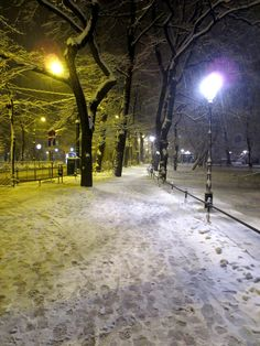 lifestyle: SNOW IN THE CITY