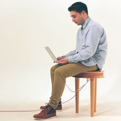 SpoolStool Multifunctional Stool by Joe Levy