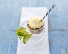 Mojito cupcakes recipe - we love this recipe by Crumbs! Couture