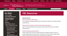 CELL at UIndy » PBL Resources