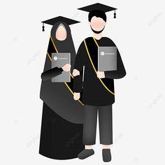 Muslim Family, Muslim Couples, Wedding Dress Illustrations, Our Adventure Book, Indonesian Wedding, Islamic Cartoon, Marriage Couple, Anime Muslim, Hijab Cartoon