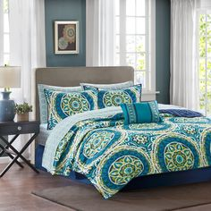 Madison Park Essentials Odisha 8-piece Coverlet Set