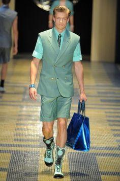 Versace Men's Spring 2013   KENTON magazine