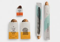 Masa Take Away Bags — The Dieline - Branding & Packaging