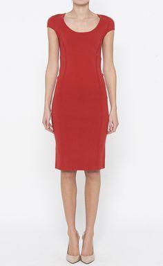 Michael Kors Red Dress   VAUNTE
