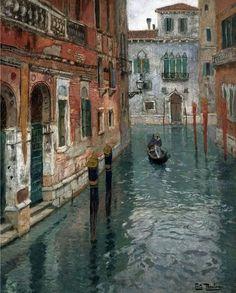 Thaulow - View of Venezia