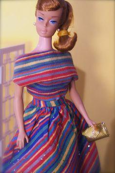 Vintage Barbie - Swirl Ponytail - titian