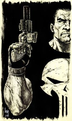 The Punisher by Heubert Khan Michael *