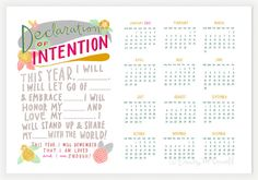 I have some blanks filled in already, need to figure out the rest...2013 Calendar Declaration of Intention New by emilymcdowelldraws, $32.00