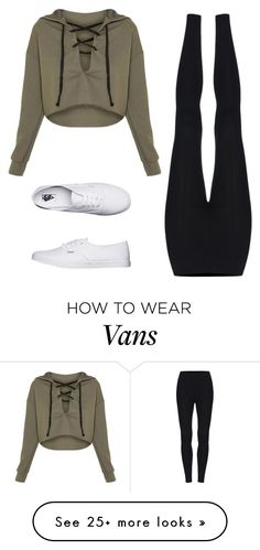 """when you so tired, u dress however"" by may-boo on Polyvore featuring Vans"