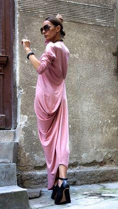 SALE XXLXXXLMaxi Dress Asymmetric Kaftan / Long Dress /
