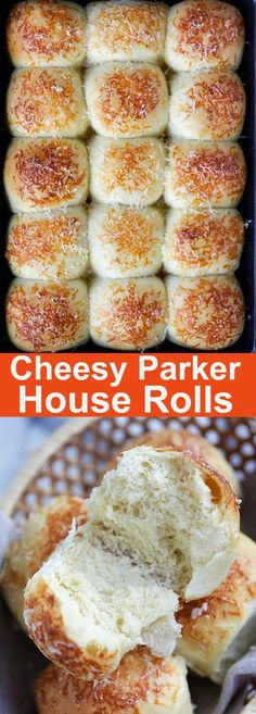 Cheesy Parker House Rolls – BEST Parker house rolls recipe with Parmesan cheese. Easy, fail-proof and yields soft and delicious homemade rolls | rasamalaysia.com