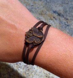 Items similar to Tomorrowland Tomorrowworld Suede Wood Bracelet Kandi on Etsy