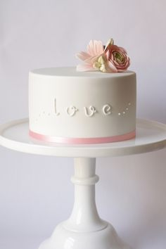 All you need is Love cake.