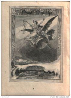 """Prosit Neujahr  - Druck, entnommen  aus """"die Gartenlaube"""", 1897"""