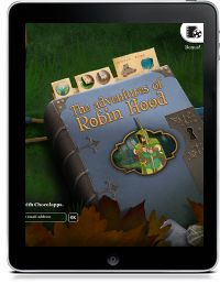 The Adventures of Robin Hood story app Chocolapps PreK4-5 abbreviated retelling