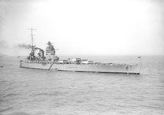 HMS Rodney in 1930.