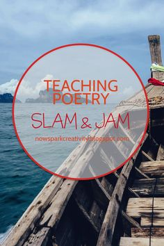 POETRY SLAM: Need inspiration for your next spoken word event? In this post, you'll find ideas to creatively engage students in writing poetry and performing it live on stage. Slam Poetry, Poetry Unit, Writing Poetry, Poetry Lessons, Teaching Poetry, Teaching English, English Teachers, Teaching Strategies, Teaching Ideas