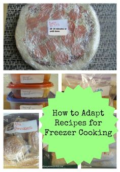 How to Adapt Recipes for Freezer Cooking. Great tips to stock your freezer with your favorite meals. Freezer cooking Freezer Cooking Tips & . Bulk Cooking, Batch Cooking, Freezer Cooking, Cooking Tips, Cooking Recipes, Easy Cooking, Beginner Cooking, Cooking Photos, Cooking Utensils