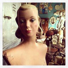 our new lady #vmcentral  #vintagemannequins #lovevm by sanetc