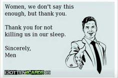 Thanks women