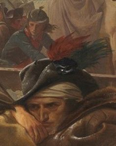 imagediver:   Click on the image to see the detail in a zoomable context.  Detail from Washington Crossing the Delaware, Emanuel Leutze, 1851