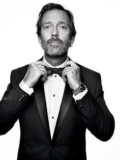 Hugh Laurie by Mark Seliger.
