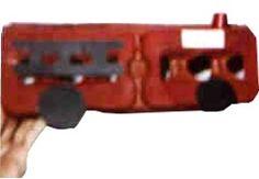 Egg Carton Fire Truck/ Bus