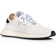 Adidas Women's Deerupt Runner Sneakers (5.770 RUB) ❤ liked on Polyvore featuring shoes, sneakers, linen, adidas shoes, linen shoes, adidas trainers, adidas sneakers and adidas footwear