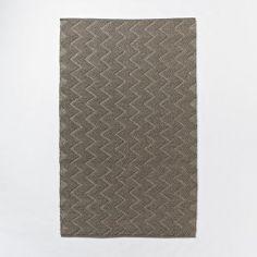 Textured Peaks Wool Rug | west elm