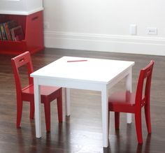 137 best Kiddie Tables & Chairs images on Pinterest | Child room ...