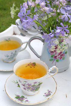 Flowers and Tea.