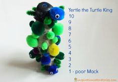 Yertle The Turtle Stacking Turtles For Dr Seuss Week