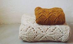 le tricot  ₪  magnifique patron umaro de Jared Flood pour brooklyn tweed. tricoté tel quel et en version pour bébé par papivole (knit blanket baby)
