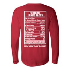 Football Ladies Facts Shirt  Want more business from social media? zackswimsmm.tk