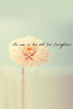 I love fairytales!