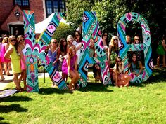 Love these letters! - Kappa Alpha Theta at Oklahoma State