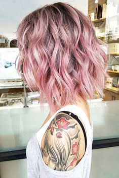 18 Amazing Ideas for Long Bob Haircuts ★ Colorful Long Bob Hairstyles Picture 2 ★ See more: http://glaminati.com/long-bob-haircuts/ #longbobhaircuts #bobhairstyle