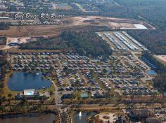 Gulf Breeze RV Resort in Gulf Shores, Alabama - http://www.rvcampresort.com/Pages/GBAerialPhoto.aspx