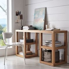 2 x 2 Console Desk - modern - desks - - by West Elm