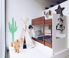 With its series of tyke-sized bedroom vignettes, its clear KAH caters to a range of kid ages and personalities.