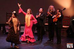 Gema Moneo, Kina Mendez, El Quni, Luis de la Tota and Jose Galvez at 8th Annual Bay Area Flamenco Festival. Photo by Babylon's Train.