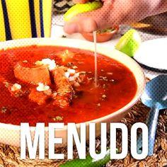 #acompaña #platillo #orégano #mexicano #guajillo #caldillo #cebolla #pancita #limón #probar #menudo #... Menudo Recipe Authentic, Curry, Ethnic Recipes, Food, Mexican Food Recipes, Onion, Mexican, Curries, Meals