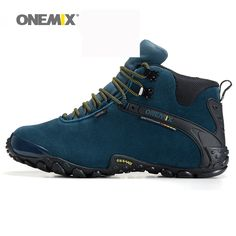 07e47d8aac0 Onemix new autumn winter onemix women's anti slip outdoor sport shoes and  wool lining women hiking shoes warm trekking shoes-in Hiking Shoes from  Sports ...