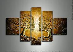 Human Tree 225 - 60 x 36in | Dzign Art