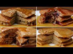 Nutritious Pancakes 4 Ways - (also banana pancake)