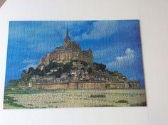 Mont St. Michel/ France Købt på loppen for en tier. 1000 brikker
