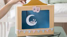 DIY : Homemade puppet theatre for bedtime stories by Søstrene Grene