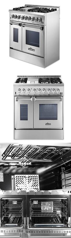 Ranges And Stoves 71250: Hrd4803u 48 Thor Kitchen Dual Fuel Range 6 Burners  Stainless Steel