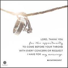 """""""Lord, thank You for the opportunity to come before Your throne with every concern or request I have for my marriage."""" Lysa TerKeurst // Today's prayer focuses on God's best in marriage. CLICK if this is the cry of your heart."""